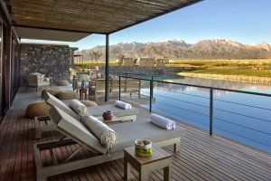 The Vines Resort and Spa Deck View